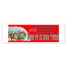 Our Founding Fathers took a s Bumper Bumper Sticker
