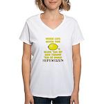 not lemonade Women's V-Neck T-Shirt