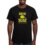 not lemonade Men's Fitted T-Shirt (dark)