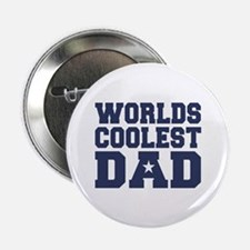 Worlds Coolest Dad Button