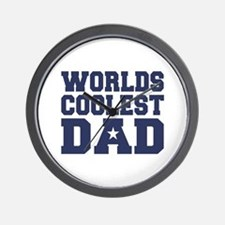 Worlds Coolest Dad Wall Clock