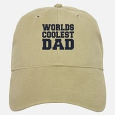 Worlds Coolest Dad Baseball Baseball Cap