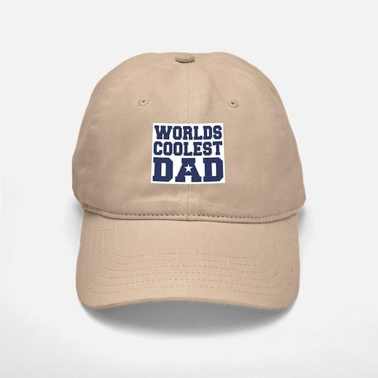 Worlds Coolest Dad Baseball Baseball Cap