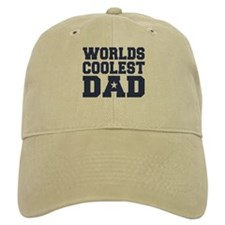 Worlds Coolest Dad Baseball Cap