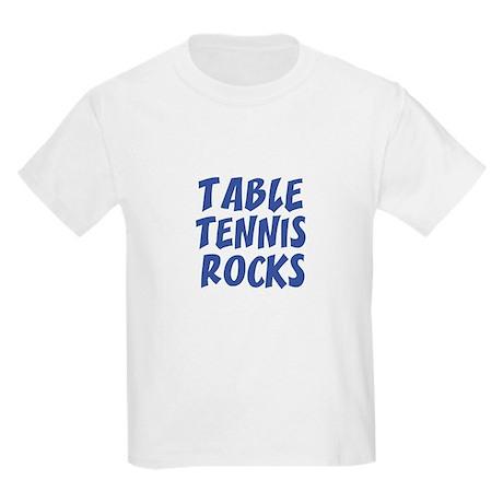 TABLE TENNIS ROCKS Kids T-Shirt