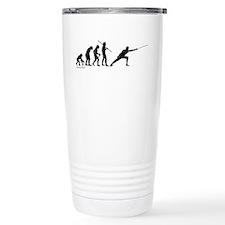 Fencing Evolution Travel Coffee Mug