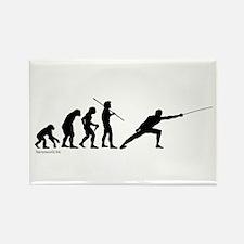 Fencing Evolution Rectangle Magnet (10 pack)