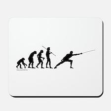 Fencing Evolution Mousepad