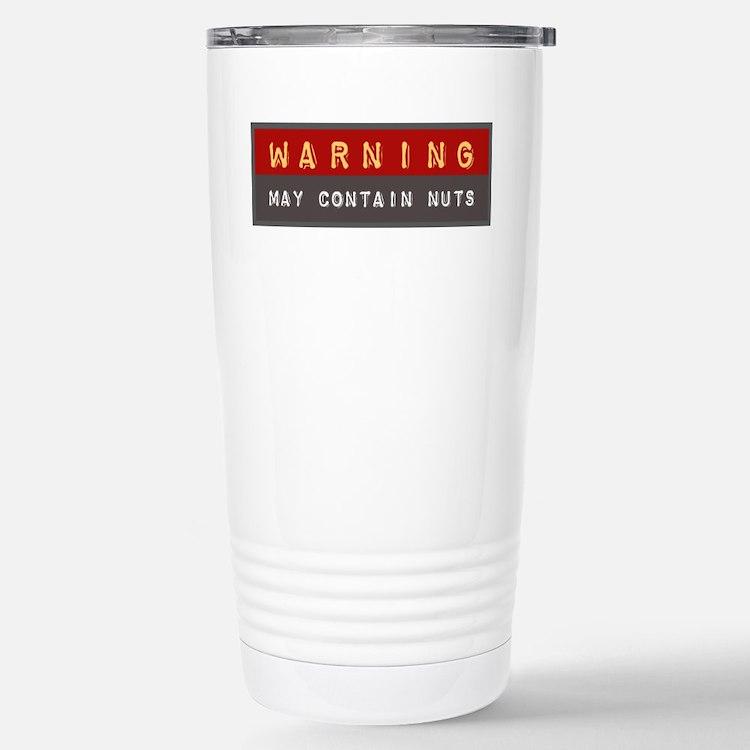 May Contain Nuts | Travel Mug