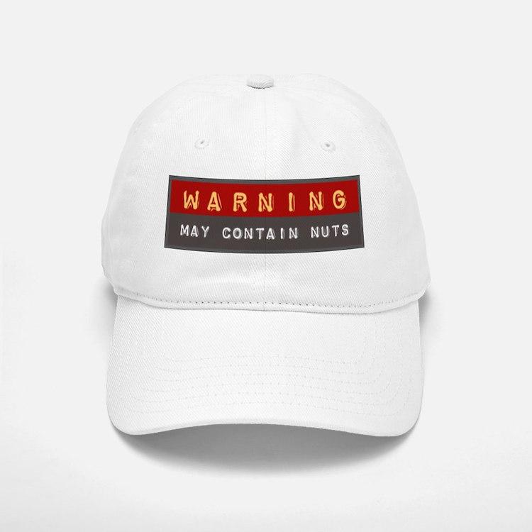 May Contain Nuts | Baseball Baseball Cap