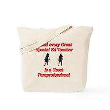 Unique Paraprofessional Tote Bag