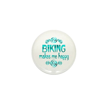 Biking Mini Button