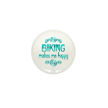 Biking Mini Button (10 pack)