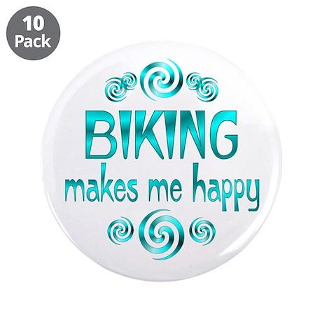 """Biking 3.5"""" Button (10 pack)"""