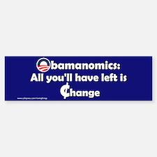 Obamanomics-Change Bumper Bumper Bumper Sticker