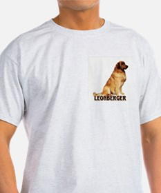 leonberger portrait Ash Grey T-Shirt