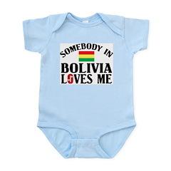 Somebody In Bolivia Infant Creeper