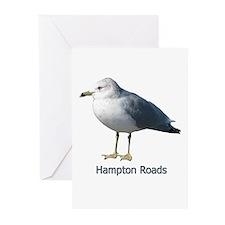 Hampton Roads Gull Greeting Cards (Pk of 20)