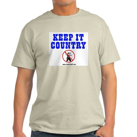 Keep It Country #104 Ash Grey T-S