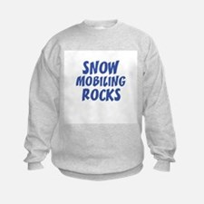 SNOW MOBILING ROCKS Sweatshirt