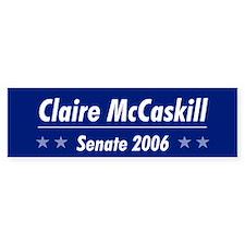 McCaskill 06 Bumper Bumper Sticker