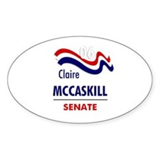McCaskill 06 Oval Decal