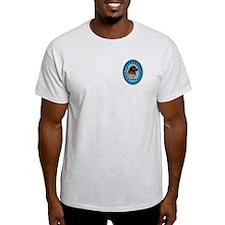 Leonberger walks Ash Grey T-Shirt