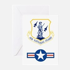 Air National Guard<BR> 6 Greeting Cards