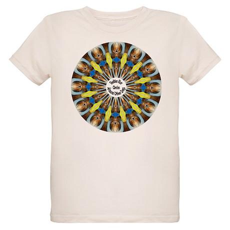 Sheltie Kaleidoscope Organic Kids T-Shirt
