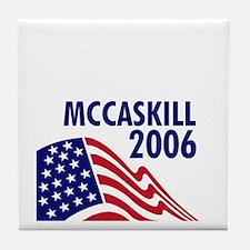 McCaskill 06 Tile Coaster