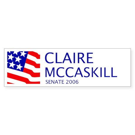 McCaskill 06 Bumper Sticker