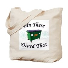 Bin There_Dived That! Tote Bag