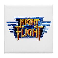 Night Flight Tile Coaster