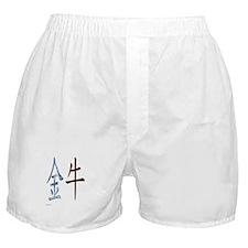 Chinese Metal Ox Boxer Shorts