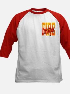 Chinese Fire Ox Kids Baseball Jersey