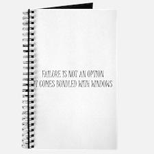 """""""Failure is Not an Option"""" Journal"""