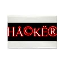 Cute Hacker Rectangle Magnet