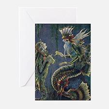 Mer King Greeting Cards (Pk of 10)