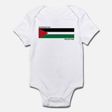 Cute Country flag palestine Infant Bodysuit
