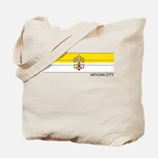 Cute Vatican city flag Tote Bag