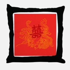 Chinese Wedding Gifts Throw Pillow