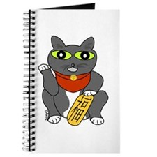 Lucky cat Maneki neko Journal