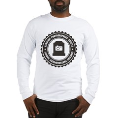 Cemetery Photo Soc Long Sleeve T-Shirt