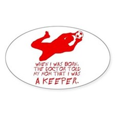 Keeper Oval Decal
