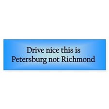 Petersburg n RM Bumper Bumper Sticker