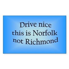Norfolk n RM Rectangle Decal