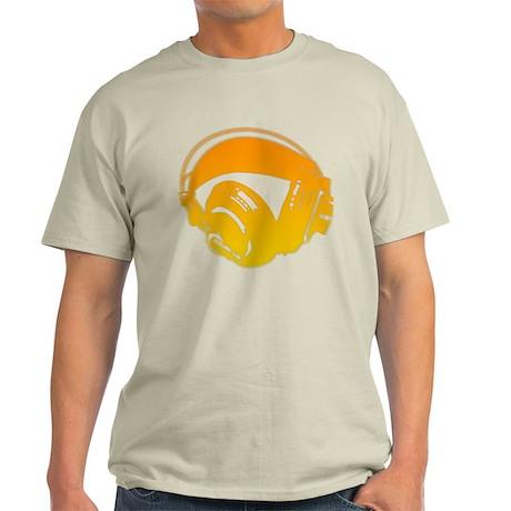 DJ Headphones Light T-Shirt