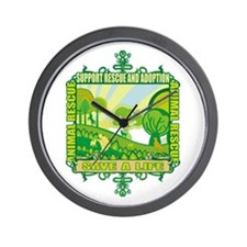 Animal Rescue Me Wall Clock