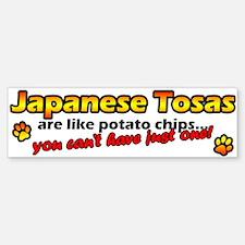 Potato Chips Japanese Tosa Bumper Bumper Bumper Sticker
