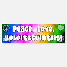 Hippie Xoloitzcuintli Bumper Bumper Bumper Sticker